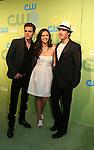 Paul Wesley - Nina Dobrev - Ian Somerhalder The Vampire Diaries at the CW Upfront 2009 on May 21, 2009 at Madison Square Gardens, New York NY. (Photo by Sue Coflin/Max Photos)