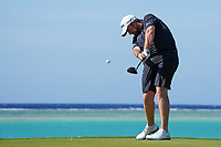 Shane Lowry (IRL) on the 17th during the Pro-Am of the Saudi International at the Royal Greens Golf and Country Club, King Abdullah Economic City, Saudi Arabia. 29/01/2020<br /> Picture: Golffile | Thos Caffrey<br /> <br /> <br /> All photo usage must carry mandatory copyright credit (© Golffile | Thos Caffrey)
