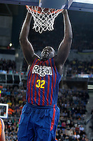 FC Barcelona Regal's Nathan Jawai during Spanish Basketball King's Cup Final match.February 07,2013. (ALTERPHOTOS/Acero)
