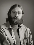 Man in 1972 with beard and long hair.