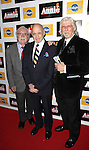People: Charles Strouse, Thomas Meehan, Martin Charnin attending the Broadway Opening Night Performance After Party for 'Annie' at the Hard Rock Cafe in New York City on 11/08/2012