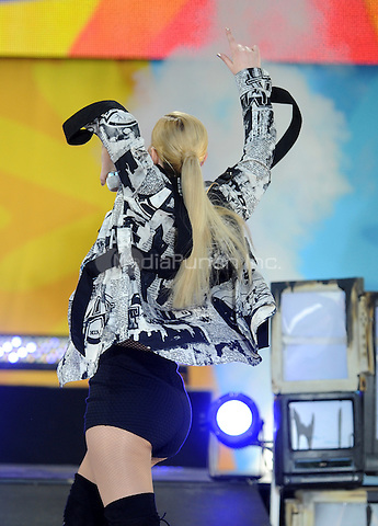 NEW YORK, NY - June 10: Iggy Azalea  performs in Central Park at Rumsey Playfield as part of the Good Morning America Summer Concert Series on June 19  in New York City .  Photo Credit:John Palmer/ Media Punch