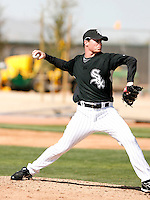 Lucas Harrell  -  Chicago White Sox - 2009 spring training.Photo by:  Bill Mitchell/Four Seam Images