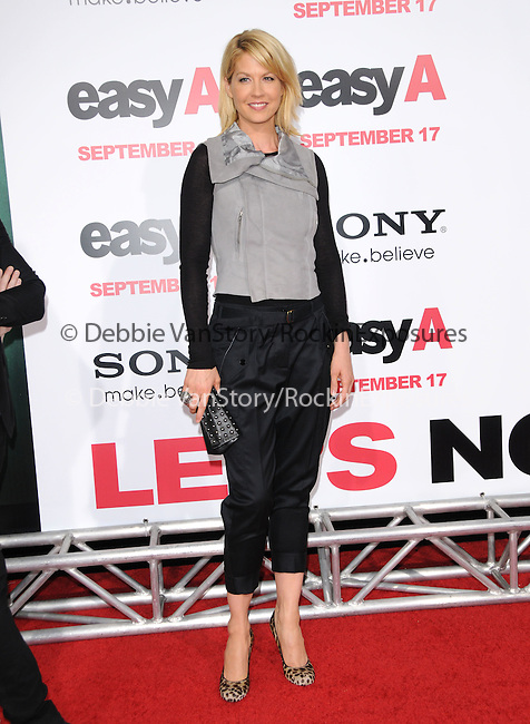 "Jenna Elfman at the Screen Gems' L.A. Premiere of ""Easy A"" held at The Grauman's Chinese Theatre in Hollywood, California on September 13,2010                                                                               © 2010 Hollywood Press Agency"