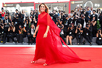 VENICE, ITALY - AUGUST 30: Greta Scarano arrives at the 'Downsizing' premiere and Opening of the 74th Venice Film Festival at the Palazzo del Cinema on August 30, 2017 in Venice, Italy.  (Photo by John Rasimus) /MediaPunch ***FRANCE, SWEDEN, NORWAY, DENARK, FINLAND, USA, CZECH REPUBLIC, SOUTH AMERICA ONLY***