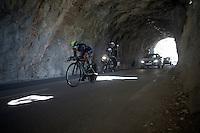 Nairo Quintana (COL/Movistar)<br /> <br /> stage 13 (ITT): Bourg-Saint-Andeol - Le Caverne de Pont (37.5km)<br /> 103rd Tour de France 2016