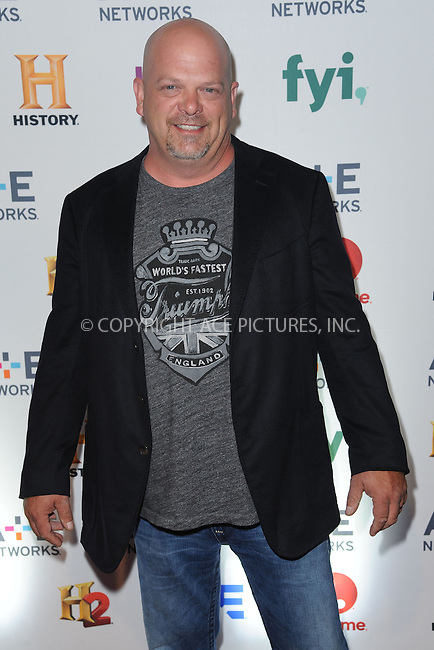 WWW.ACEPIXS.COM<br /> May 8, 2014 New York City<br /> <br /> Rick Harrison attending the A+E Networks 2014 Upfronts at the Park Avenue Armory on May 8, 2014 in New York City.<br /> <br /> Please byline: Kristin Callahan<br /> <br /> ACEPIXS.COM<br /> <br /> Tel: (212) 243 8787 or (646) 769 0430<br /> e-mail: info@acepixs.com<br /> web: http://www.acepixs.com