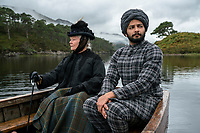 Victoria and Abdul (2017)   <br /> Judi Dench, Ali Fazal<br /> *Filmstill - Editorial Use Only*<br /> CAP/KFS<br /> Image supplied by Capital Pictures