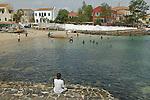 Africa, Afrika, Senegal, 17-09-2011, Dakar, Dakkar, Voor de kust van Dakar ligt het voormalige slaveneiland Isle de Goré. ( Goeree, uit het Nederlands) Tijdens de slavenhandel geregeerd door Nederlanders, en later over genomen door de Fransen.. Ook dit eiland staat op de UNESCO wereld erfgoed lijst. de baai van het eiland..foto: michael Kooren/HH