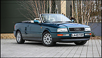 Lady Diana's 'divorce' Audi convertible.