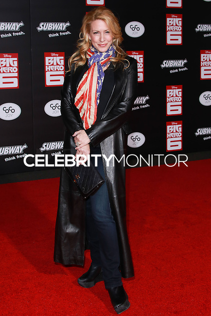 HOLLYWOOD, LOS ANGELES, CA, USA - NOVEMBER 04: Joely Fisher arrives at the Los Angeles Premiere Of Disney's 'Big Hero 6' held at the El Capitan Theatre on November 4, 2014 in Hollywood, Los Angeles, California, United States. (Photo by David Acosta/Celebrity Monitor)