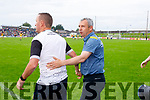 Kerry Manager Peter Keane after the Football All-Ireland Senior Championship Quarter-Final Group 2 Phase 3 match between Kerry and Meath at Páirc Tailteann, Navan on Saturday.