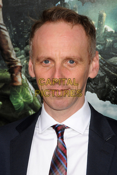 "Ewen Bremner.""Jack The Giant Slayer"" Los Angeles Premiere held at Grauman's Chinese Theatre, Hollywood, California, USA..February 26th, 2013.headshot portrait white shirt red tie black .CAP/ADM/BP.©Byron Purvis/AdMedia/Capital Pictures."