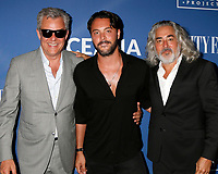 LOS ANGELES - July 17:  Danny Huston, Jack Huston, Mitch Glazer at the Oceana And The Walden Woods Project Present: Rock Under The Stars With Don Henley And Friends at the Private Residence on July 17, 2017 in Los Angeles, CA