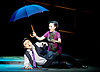 Thunderstorm <br /> by MO Fan <br /> based on the drama by Cao Yu <br /> Shanghai Opera House at The London Coliseum, London, Great Britain <br /> rehearsal <br /> 10th August 2016 <br /> <br /> Xu Xiaoying as Fanyi <br /> <br /> Han Peng as Zhou Ping <br /> <br /> <br /> <br /> Photograph by Elliott Franks <br /> Image licensed to Elliott Franks Photography Services