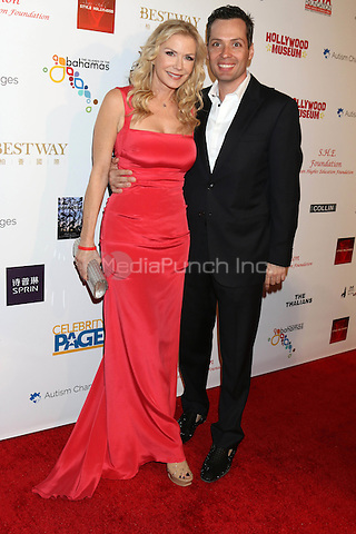 HOLLYWOOD, CA - FEBRUARY 26: Katherine Kelly Lang, Dominique Zoida at the Style Hollywood Oscar Viewing Party at the Hollywood Museum in Hollywood, California on February 26, 2017. Credit: David Edwards/MediaPunch