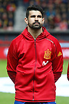 Spain's Diego Costa during FIFA World Cup 2018 Qualifying Round match. March 24,2017.(ALTERPHOTOS/Acero)
