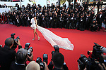 Cannes Film Festival 2017 - Day 4. Kendall Jenner is seen on the Red Carpet during the 70th edition of the 'Festival International du Film de Cannes' on 20/05/2017 in Cannes, France. The film festival runs from 17 to 28 May.