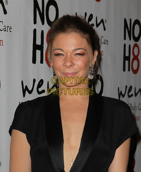 LeAnn Rimes.NOH8 Celebrity Studded 4th Anniversary Held At Avalon Dome, Hollywood, California, USA, .13th December 2012..portrait headshot  black tuxedo tux earrings silver  .CAP/ADM/KB.©Kevan Brooks/AdMedia/Capital Pictures.