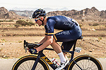 Andrew Fenn (GBR) Aqua Blue Sport in action during Stage 1 of the 2018 Tour of Oman running 162.5km from Nizwa to Sultan Qaboos University. 13th February 2018.<br /> Picture: ASO/Muscat Municipality/Kare Dehlie Thorstad | Cyclefile<br /> <br /> <br /> All photos usage must carry mandatory copyright credit (&copy; Cyclefile | ASO/Muscat Municipality/Kare Dehlie Thorstad)
