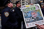 USA - NEW YORK - Occupy Wall Street Highlights November 19