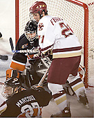 Eric Leroux, Daryl Marcoux, Brian Boyle - Boston College defeated Princeton University 5-1 on Saturday, December 31, 2005 at Magness Arena in Denver, Colorado to win the Denver Cup.  It was the first meeting between the two teams since the Hockey East conference began play.
