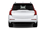 Straight rear view of a 2019 Volvo XC90 T5 Momentum AWD 5 Door SUV stock images