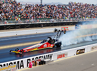 Jul 30, 2017; Sonoma, CA, USA; NHRA top fuel driver Doug Kalitta during the Sonoma Nationals at Sonoma Raceway. Mandatory Credit: Mark J. Rebilas-USA TODAY Sports