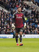 Watford's Ben Foster<br /> <br /> Photographer David Horton/CameraSport<br /> <br /> The Premier League - Brighton and Hove Albion v Watford - Saturday 2nd February 2019 - The Amex Stadium - Brighton<br /> <br /> World Copyright © 2019 CameraSport. All rights reserved. 43 Linden Ave. Countesthorpe. Leicester. England. LE8 5PG - Tel: +44 (0) 116 277 4147 - admin@camerasport.com - www.camerasport.com