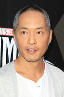 "LOS ANGELES - AUG 28:  Ken Leung at the ABC and Marvel's ""Inhumans"" Premiere Screening at the Universal City Walk on August 28, 2017 in Los Angeles, CA"