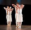 English National Ballet <br /> at Sadler's Wells, London, Great Britain <br /> rehearsal<br /> 22nd March 2017 <br /> <br /> <br /> <br /> Adagio Hammerklavier <br /> by Hans van Manen <br /> <br /> <br /> Tamara Rojo <br /> Isaac Hernandez <br /> <br /> Photograph by Elliott Franks <br /> Image licensed to Elliott Franks Photography Services
