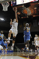 March 14, 2010.  Jayne Appel during the finals of the Pac-10 tournament.  Stanford defeated UCLA, 70-46.