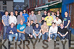 SOCCER BLITZ: Member's of the Aspen Grove software company, Tralee and Ernst & Young entrepreneur of the year finalist having fun after their Soccer Blitz at Bailey's Corner, Tralee on Friday.