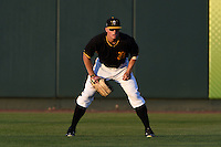 Bradenton Marauders outfielder Austin Meadows (13) during a game against the Charlotte Stone Crabs on April 22, 2015 at McKechnie Field in Bradenton, Florida.  Bradenton defeated Charlotte 7-6.  (Mike Janes/Four Seam Images)