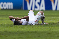 .Action photo of Esteban Rodriguez of USA, during game of the FIFA Under 17 World Cup game, held at Queretaro.
