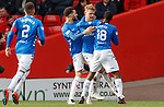03.03.2019 Aberdeen v Rangers: Joe Worrall takes the acclaim after equalising