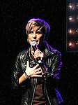 Jenn Colella (All My Children) sings at the first ever 3-day Broadway Con on January 22 - 24, 2016 at the Hilton Hotel, New York City, New York. (Photo by Sue Coflin/Max Photos)
