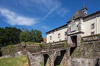 France, Pyrénées-Atlantiques (64), Pays-Basque, Saint-Jean-Pied-de-Port, la citadelle // France, Pyrenees Atlantiques, Basque Country, Saint Jean Pied de Port, Citadel