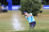 David Horsey (ENG) plays his 2nd shot from a fairway bunker on the 16th hole during Saturday's Round 3 of the Porsche European Open 2018 held at Green Eagle Golf Courses, Hamburg Germany. 28th July 2018.<br /> Picture: Eoin Clarke | Golffile<br /> <br /> <br /> All photos usage must carry mandatory copyright credit (&copy; Golffile | Eoin Clarke)