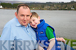 John O'Sullivan with his son Sean,who is one of the organisers of the Jack and Jill run in Kenmare on this Saturday.