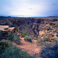 Little Colorado River Navajo Tribal Park near Cameron, Arizona, USA - Scenic View overlooking Little Colorado River and Canyon, near Grand Canyon National Park