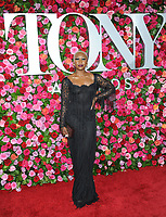 NEW YORK, NY - JUNE 10: Cynthia Erivo attends the 72nd Annual Tony Awards at Radio City Music Hall on June 10, 2018 in New York City.  <br /> CAP/MPI/JP<br /> &copy;JP/MPI/Capital Pictures
