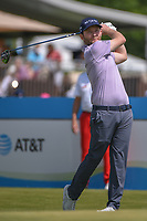 Brandon Grace (RSA) watches his tee shot on 10 during round 4 of the AT&T Byron Nelson, Trinity Forest Golf Club, Dallas, Texas, USA. 5/12/2019.<br /> Picture: Golffile   Ken Murray<br /> <br /> <br /> All photo usage must carry mandatory copyright credit (© Golffile   Ken Murray)