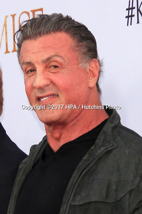 """LOS ANGELES - APR 12:  Sylvester Stallone at the """"The Promise"""" Premiere at the TCL Chinese Theater IMAX on April 12, 2017 in Los Angeles, CA"""