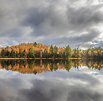 Stormy weather over Lower Clam Lake in northern Wisconsin.