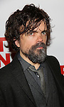 "Peter Dinklage attends the Opening Night of The New Group World Premiere of ""All The Fine Boys"" at the The Green Fig Urban Eatery on March 1, 2017 in New York City."