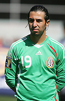 Luis Miguel Noriega. Mexico defeated Nicaragua 2-0 during the First Round of the 2009 CONCACAF Gold Cup at the Oakland, Coliseum in Oakland, California on July 5, 2009.