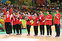 Japan team group (JPN),<br /> SEPTEMBER ,8 2016 - Goalball : <br /> Preliminary Round<br /> match between Japan 1-1 Israel<br /> at Future Arena<br /> during the Rio 2016 Paralympic Games in Rio de Janeiro, Brazil.<br /> (Photo by Shingo Ito/AFLO)