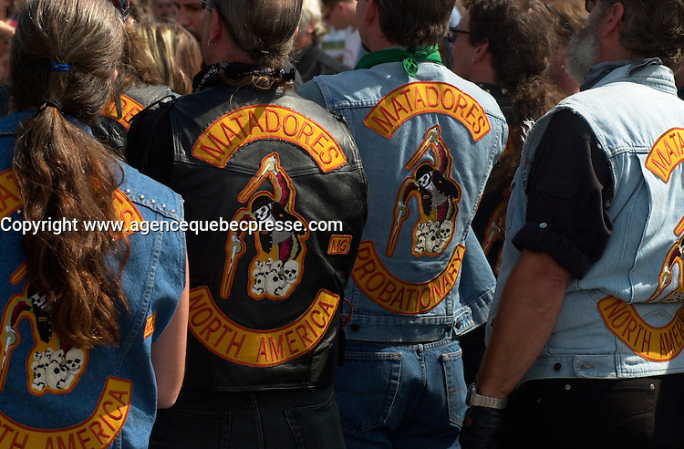 the set of THE LAST CHAPTER - LE DERNIER CHAPITRE about  criminal Bikers Gangs in Canada<br /> <br /> photo : (c)  Images Distribution