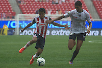 GUADALAJARA,JAL. AUGUST 4,2013.  Jesus Sanchez of Chivas during the game of Liga MX between Chivas against Atlante at Omnilife Stadium. // Jes&uacute;s S&aacute;nchez de Chivas  durante el juego  de La Liga MX entre Chivas vs Atlante en el Estadio Omnilife. <br /> PHOTOS: NORTEPHOTO/GERMAN QUINTANA**CR&Eacute;DITO OBLIGATORIO** **USO EDITORIAL** **NO VENTAS** **NO ARCHIVO**